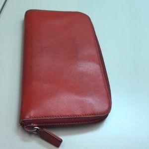 Prada Bags - Prada Zip Around Wallet
